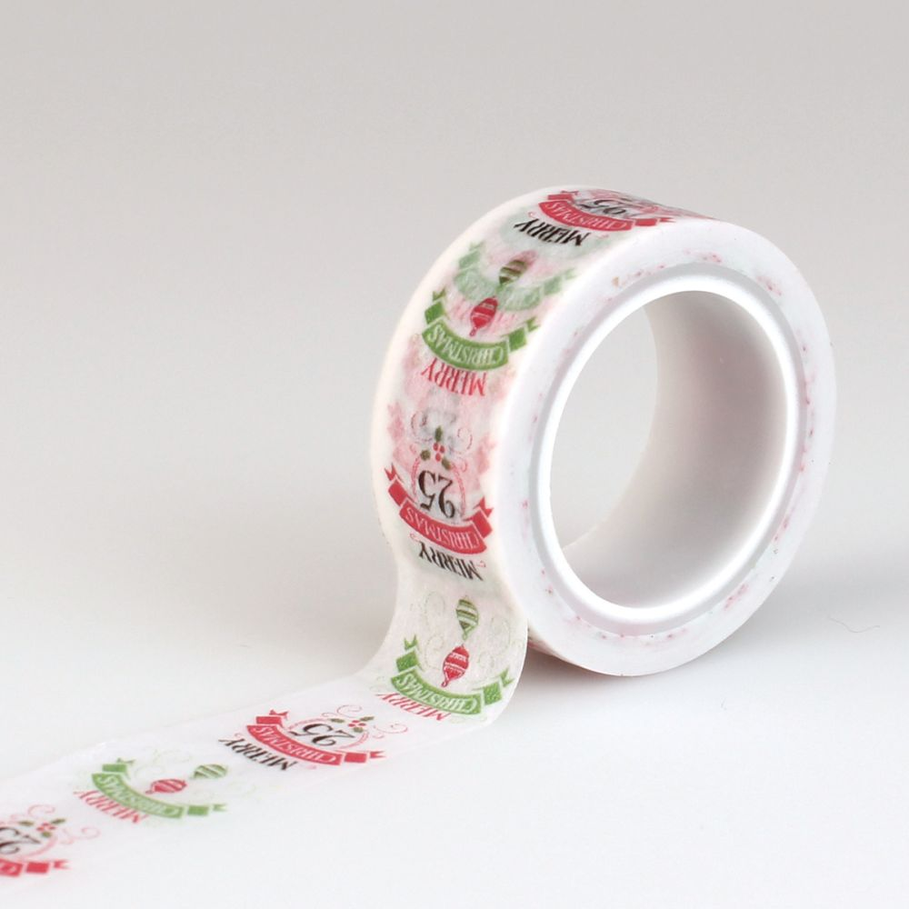 have a merry christmas decorative tape words by carta