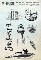 49 and Market Sand & Sea Lighthouse - Clear Stamps 4
