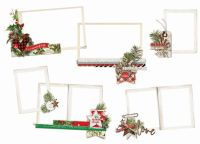 Simple Stories Simple Vintage Christmas Layered Frames