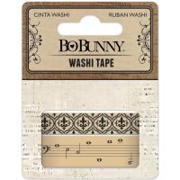 Bo Bunny Kraft Patterned Washi Tape