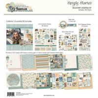 Simple Stories Simple Vintage Traveler Collector's Essential Kit