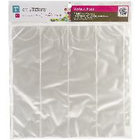 Totally Tiffany Scraprack Basic Storage Pages 10/pkg-vertical Quad