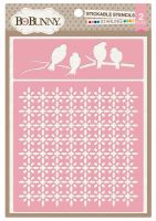 Bo Bunny Starling Stickable Stencil