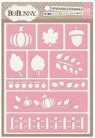 Bo Bunny Autumn Delight Stickable Stencil