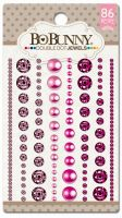 Bo Bunny Double Dot Think Pink Jewels (86/package)