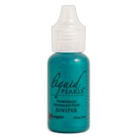 Ranger Liquid Pearls Dimensional Pearlescent Paint .5oz-juniper