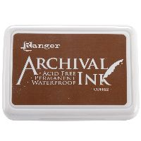 Ranger Archival Ink Pad #0-coffee