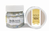 Bo Bunny Gold Confetti Paste
