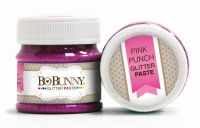 Bo Bunny Pink Punch Glitter Paste