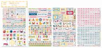 Bo Bunny Play Time Clear Stickers