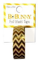 Bo Bunny Gold Foil Chevron Washi Tape