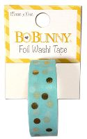 Bo Bunny Gold Foil Dot Washi Tape