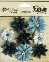 Petaloo Darjeeling Mini Mix x 8 - Teastained Blues