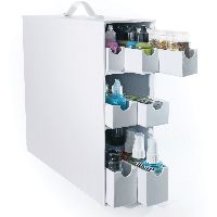 Totally Tiffany Stash And Store Sparkle & Sprinkle Case-white