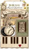 Bo Bunny Heritage Layered Chipboard