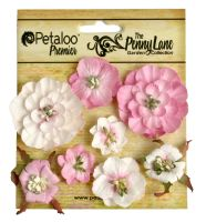 Petaloo Mixed Blossoms x 8 - Soft Pink