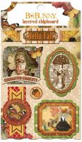 Bo Bunny Enchanted Harvest Layered Chipboard