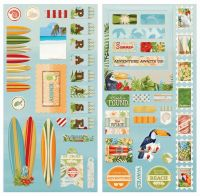 Bo Bunny Beach Therapy Chipboard