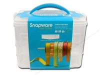 Snapware Snap 'n Stack Ribbon Dispenser 2 Layers