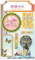 Bo Bunny Faith Layered Chipboard