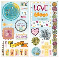 Bo Bunny Faith Chipboard