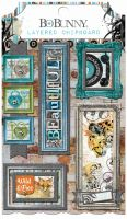 Bo Bunny Life In Color Layered Chipboard