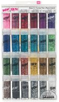 American Crafts Value Pack - 24 Pack - Wow! Mixed Glitter