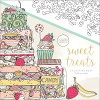 KaiserCraft Kaisercolour Perfect Bound Coloring Book - Sweet Treats
