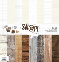 Simple Stories SN@P! Basics Wood & Notebook Paper Pack