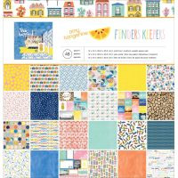 American Crafts Amy Tan Finders Keepers Single Sided 12 x 12 Paper Pad