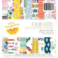 American Crafts Amy Tan Finders Keepers - 6x6 Paper Pad