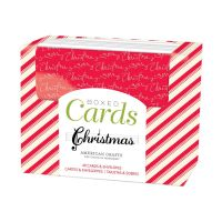 American Crafts Christmas A2 Cards Boxed Set