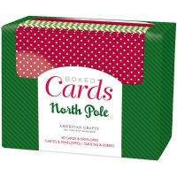 American Crafts North Pole A2 Cards Boxed Set