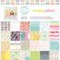 American Crafts Dear Lizzy Happy Place 12x12 Paper Pad