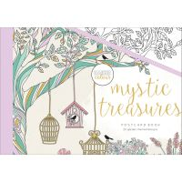 KaiserCraft Kaisercolour Postcard Book 20/pkg-Mystic Treasures