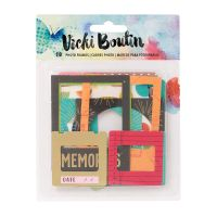 American Crafts Vicki Boutin Mixed Media - Photo Frames - (18 Piece)