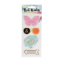 American Crafts Vicki Boutin Mixed Media - Magnet Bookmarks - (5 Piece)
