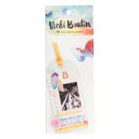 American Crafts Vicki Boutin Mixed Media - Tear-out Pad - Tags - (30 Piece)