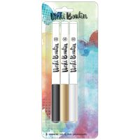 American Crafts Vicki Boutin Mixed Media - Marker Pack - (3 Piece)