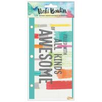 American Crafts Vicki Boutin Mixed Media - Art Pouch