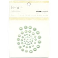 KaiserCraft Self-adhesive Pearls - Ice Green
