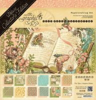 Graphic 45 Once Upon a Springtime - Deluxe Collectors Edition
