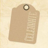Graphic 45 Celebrate - ATC Kraft Tags