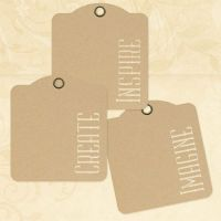 Graphic 45 Inspire, Create, Imagine - Kraft Tags