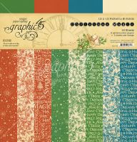 Graphic 45 Christmas Magic Patterns & Solids