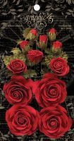 Graphic 45 Rose Bouquet Collection—Triumphant Red