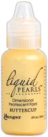 Ranger Liquid Pearls Dimensional Pearlescent Paint .5oz-buttercup