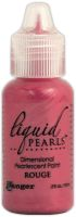 Ranger Liquid Pearls Dimensional Pearlescent Paint .5oz-rouge