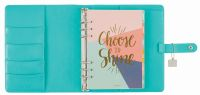Simple Stories Aqua Posh Carpe Diem A5 Planner Boxed Set