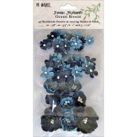 49 and Market Floral Mixology Paper Flowers - Ocean Breeze